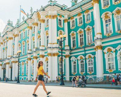 Petersburg'da Rusça Kursu 2 Haftalık